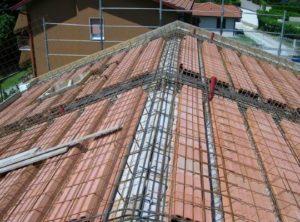 Struttura di copertura in latero-cemento