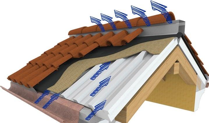 Esempio tetto ventilato