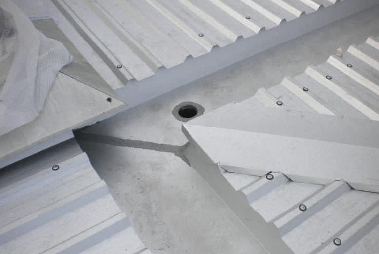 Rifacimento copertura metallica