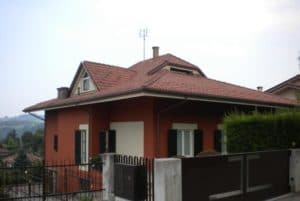 Rifacimento tetto casa in tegole in cemento