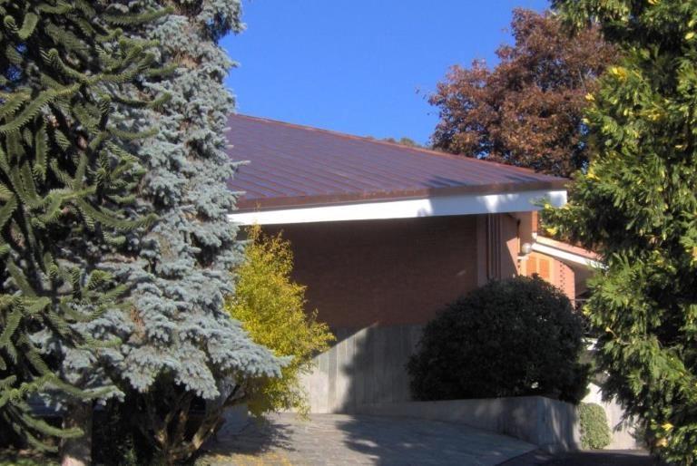 Rifacimento tetto abitazione privata in rame aggraffato