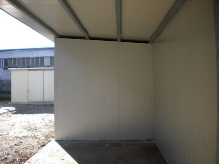 Carpenteria in ferro per magazzino