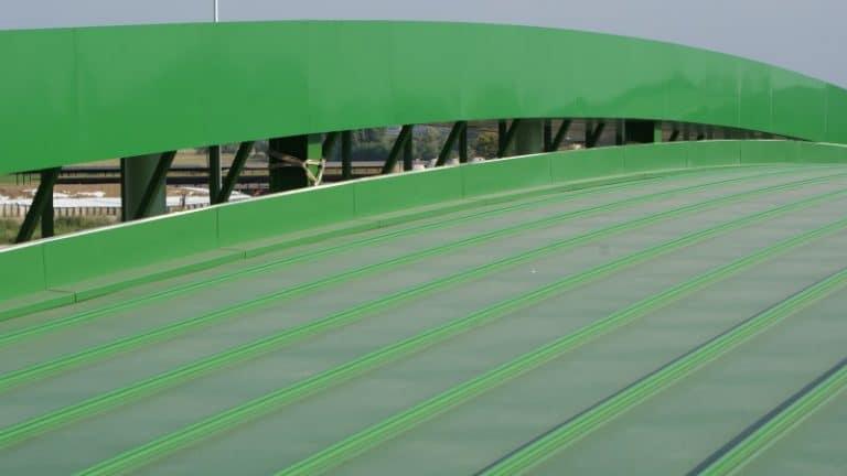 Lastre grecate per tetti piani