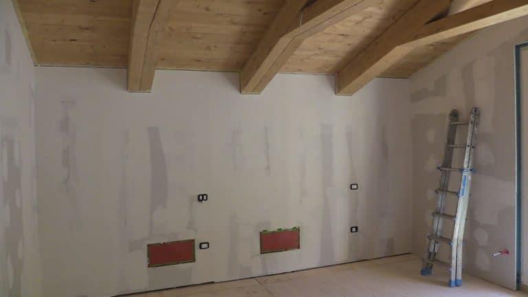 Tetto in legno lamellare