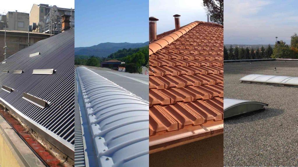 tipi di coperture per tetto