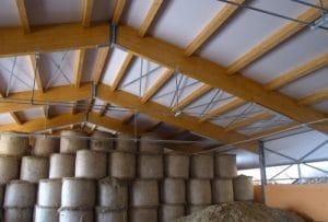 Capannone agricolo in legno