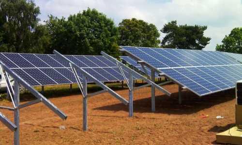 Impianto solare a Terra