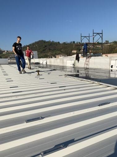 Ripristino dei moduli solari