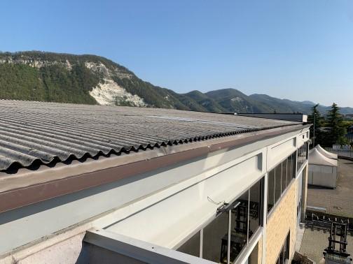 copertura in lastra di fibre cemento ecologico