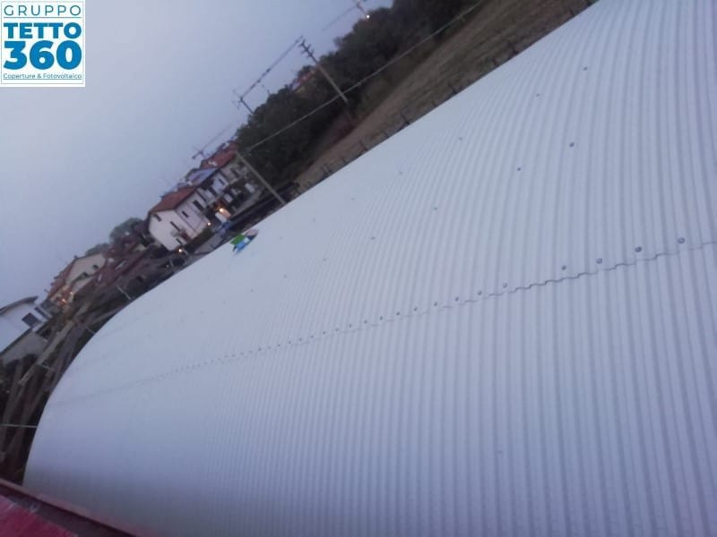 Rifacimento copertura industriale monza brianza
