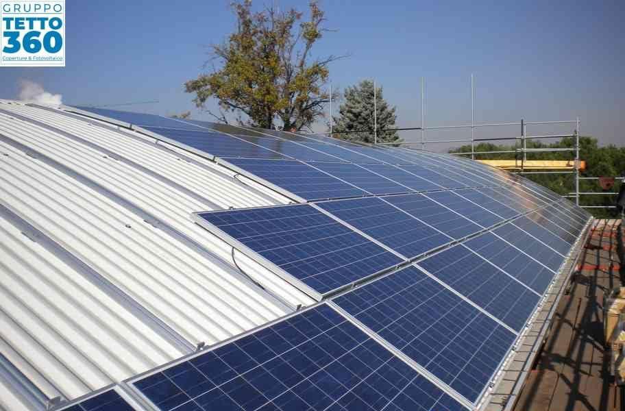 Smaltimento Eternit e Installazione Impianto Fotovoltaico a Frossasco