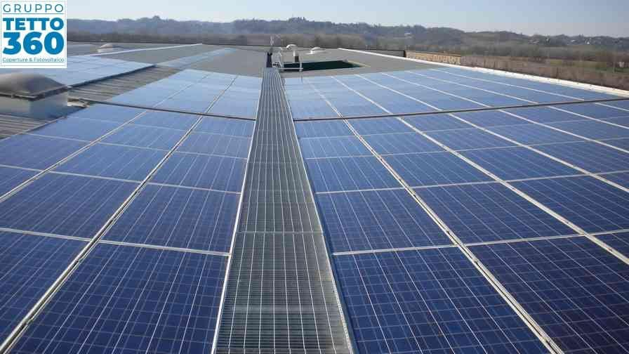 impianto solare asti