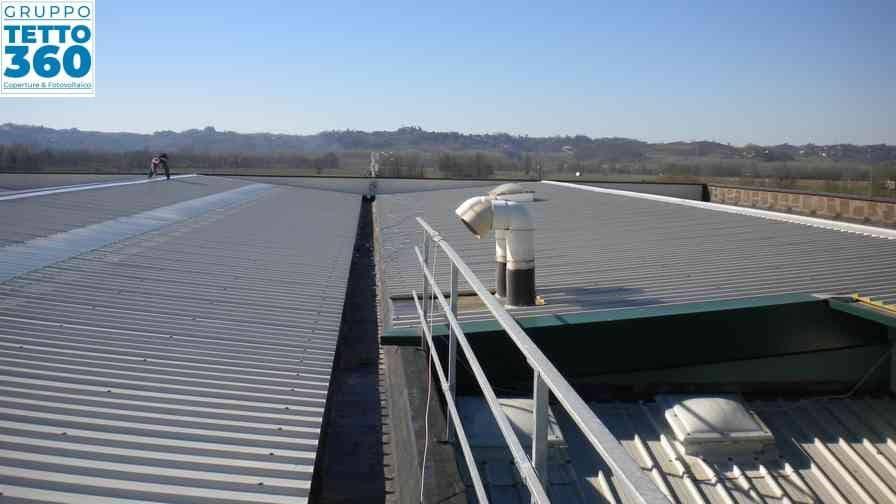 rifacimento tetto industriale asti