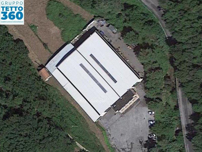 Rimozione Eternit su capannone industriale Savona
