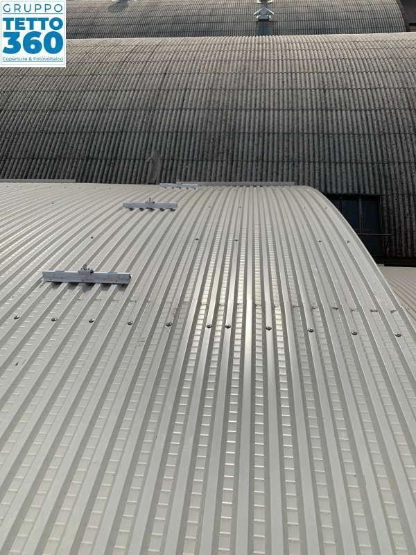 Rifacimento copertura industriale torino