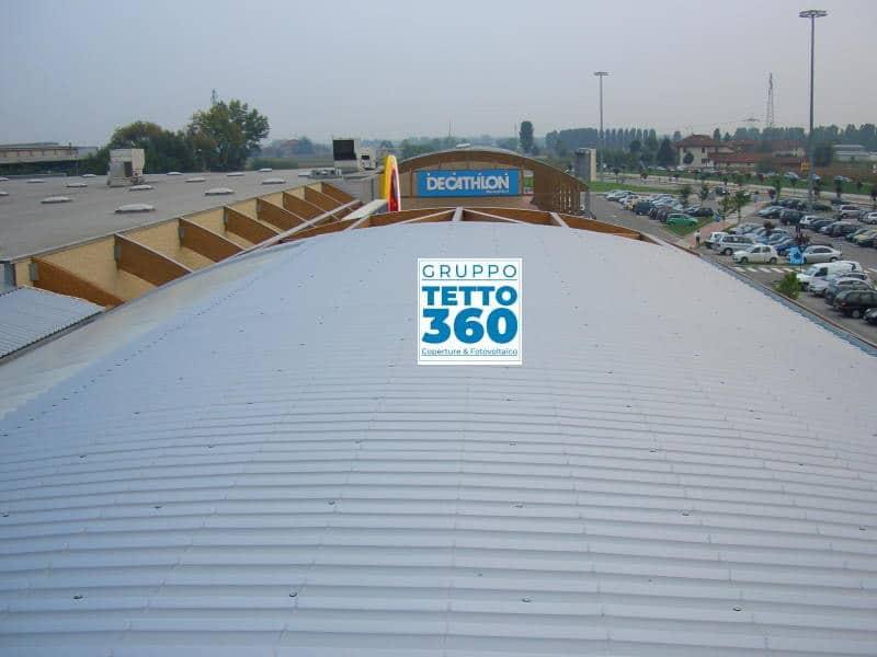 Rifacimento Copertura centro commerciale Provincia di Torino Moncalieri