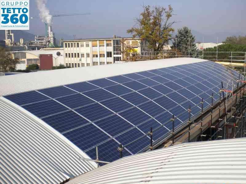 impianto fotovoltaico frossasco