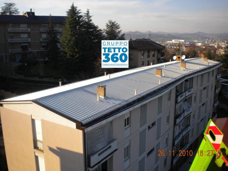 rifacimento tetto condominiale ad alba