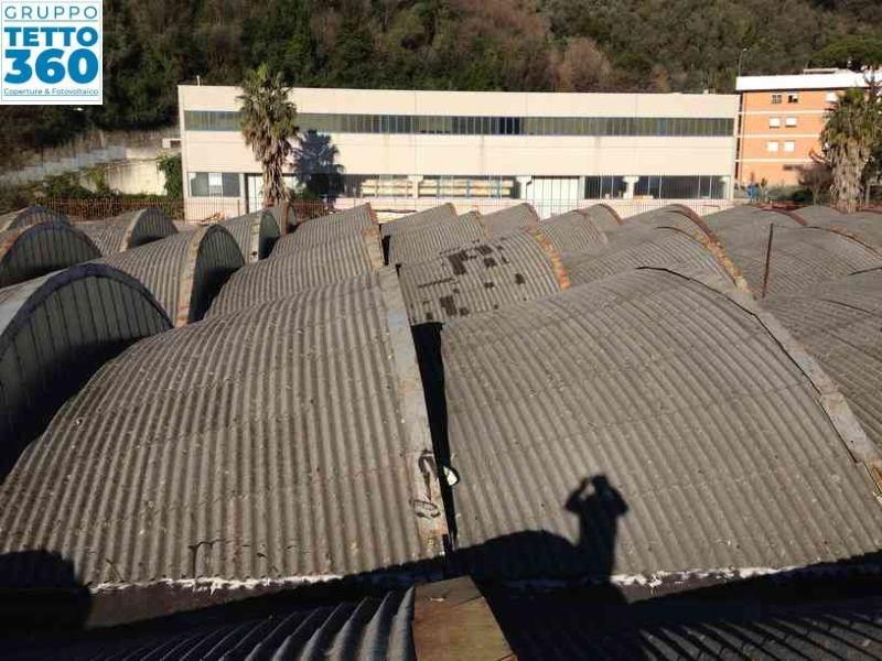 Rimozione Amianto su capannone industriale Chiavari