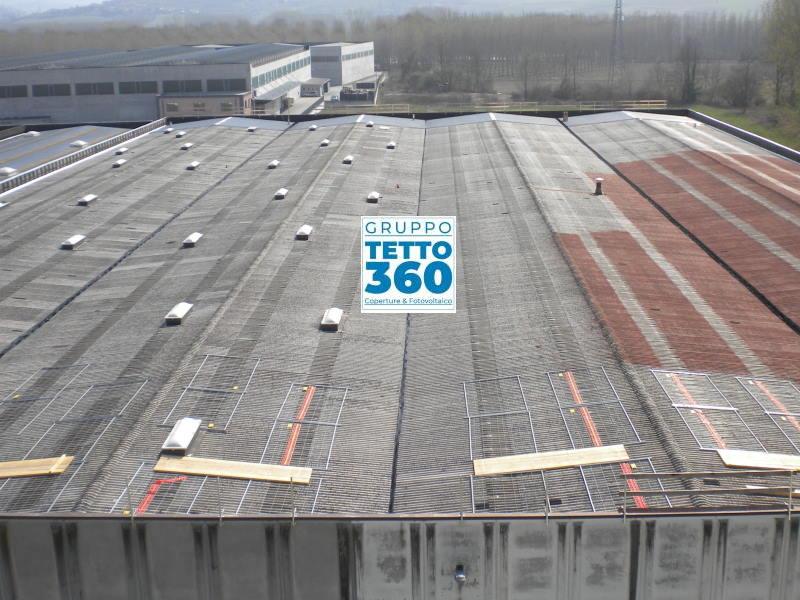 Smaltimento Eternit e Installazione Impianto Fotovoltaico Industriale provincia di Cuneo